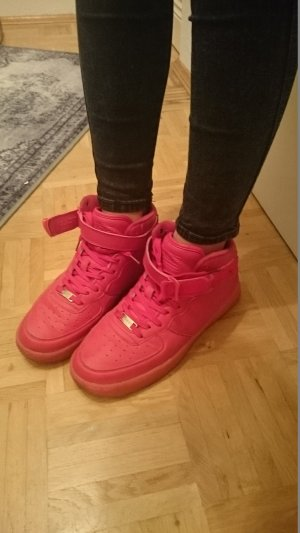 Rote Sneakers Unisex Hipster