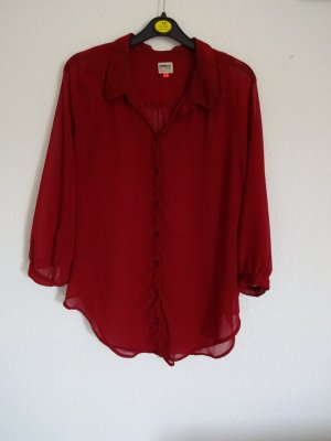 Rote Sommerbluse von Only