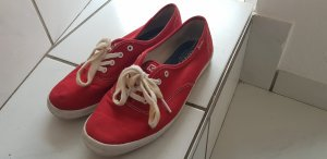 Keds Lace-Up Sneaker white-red