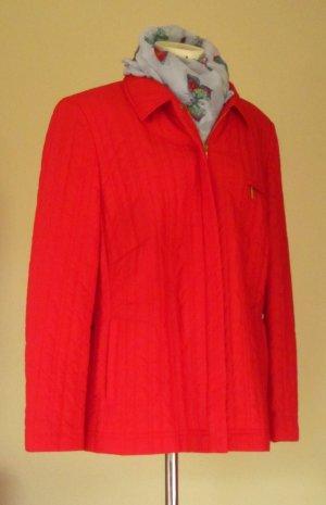 Basler Blazer court rouge tissu mixte
