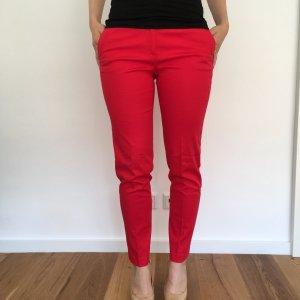 Rote Stoffhose von Esprit in Größe 36