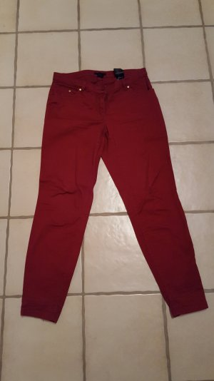 Rote Stoffhose von H&M