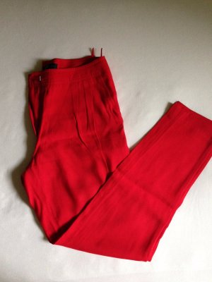 Mango Baggy Pants red