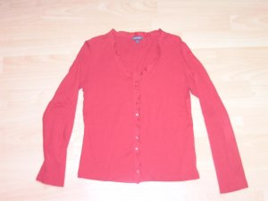 Street One Shirt Jacket red cotton