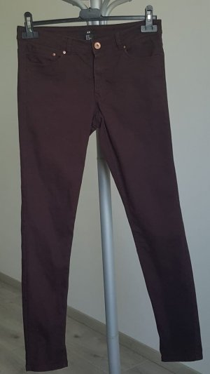 Rote Stretchhose H & M