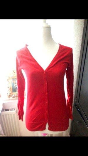 Rote Strickjacke Zara strahlend rot S