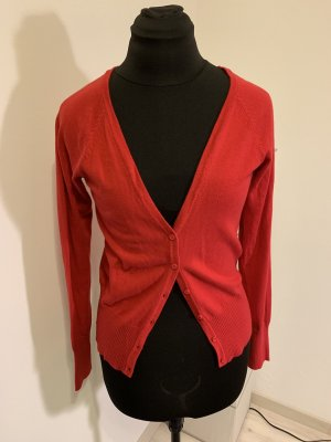 Blind Date Gilet tricoté rouge-rouge brique