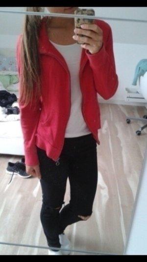 Rote Sweat-Jacke von EDC