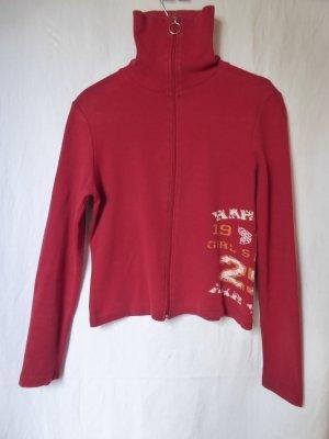 Rote Sweat-Jacke von ONLY
