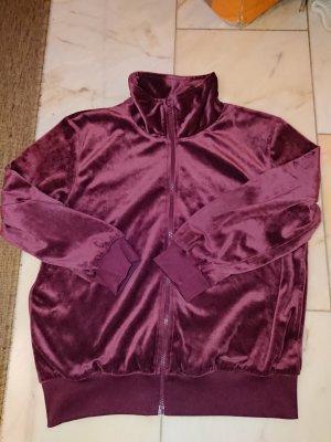 Sweat Jacket carmine-bordeaux