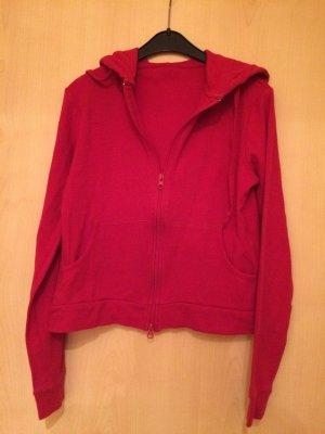 Rote Sweatjacke Gr. 34 von Terranova