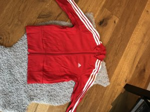 Rote Sweatjacke von Adidas
