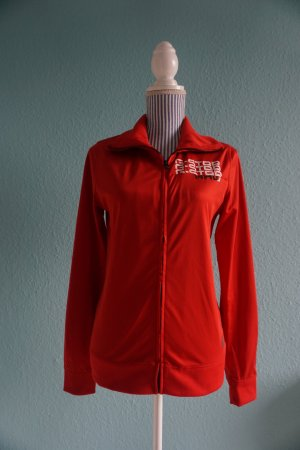 G-Star Veste sweat rouge polyester
