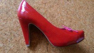 Rote Tamaris High Heels