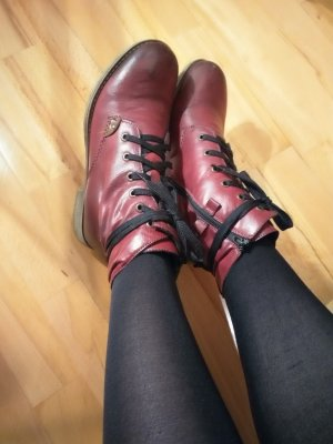 Tamaris Ankle Boots multicolored imitation leather