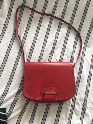 Shoulder Bag dark red