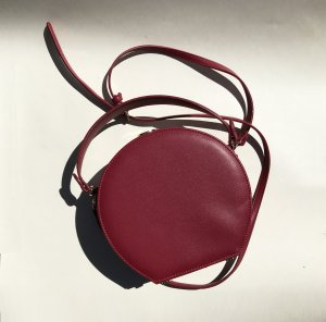 Zara Crossbody bag dark red
