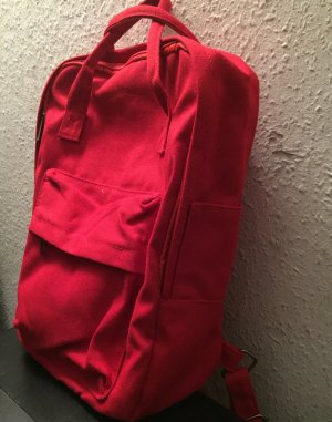 Laptop Backpack brick red