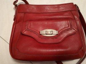 Crossbody bag red-dark red