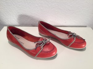 Rote Timberland Earthkeepers Ballerinas/Slippers Gr.38