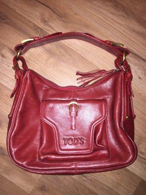 Rote Tod's Tasche selten getragen, wie neu