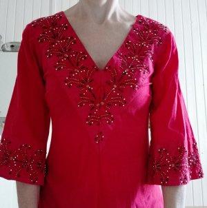 Zara Robe tunique rouge