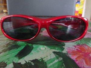 Bril rood kunststof