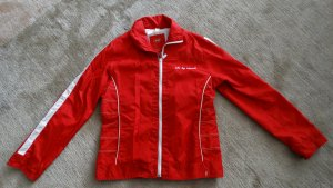 Rote Übergangsjacke in XL/46-48
