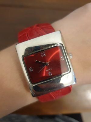 Watch Clasp silver-colored-red