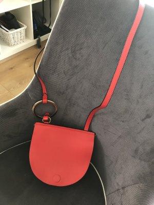 Zara Bandolera rojo-rojo claro