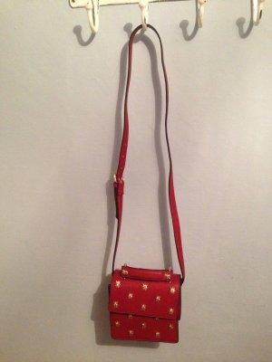 Rote Umhängetasche von Zara
