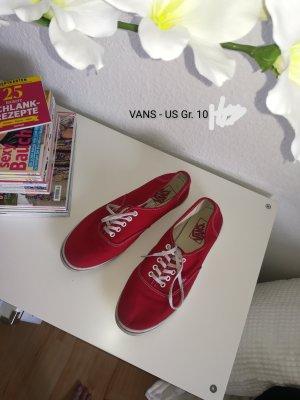 Rote Vans
