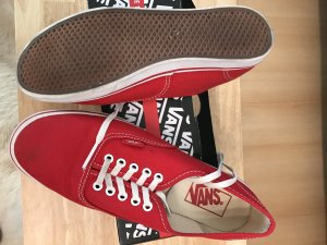 Rote Vans gr. 38,5 einmal getragen