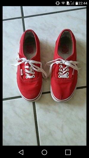 rote Vans, Größe 38-39