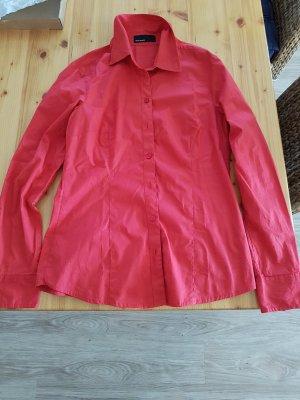 rote Vero Moda Bluse tailliert Gr. L / 42