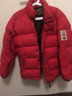 Oversized Jacket red