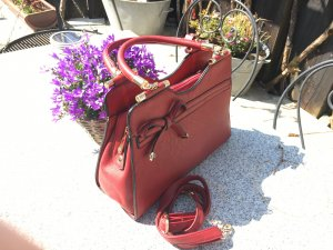 Frame Bag dark red