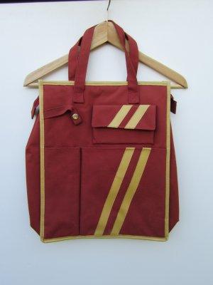 rote Vintage Tasche Retro