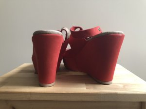 Wedge Sandals carmine