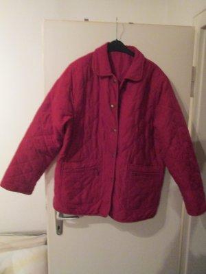 rote Winterjacke Größe 46