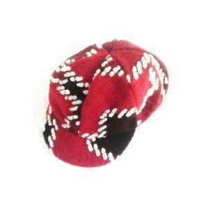 Cappellino multicolore Tessuto misto