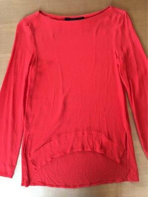 Rote Zara-Bluse