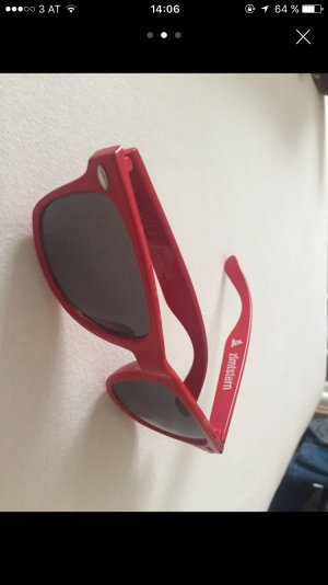 Rote Zimtstern Sonnenbrille