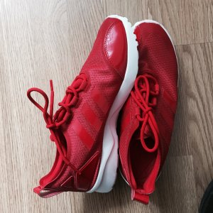 Rote ZX Flux Verve Sneakers Adidas