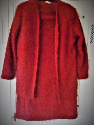 Jersey Dress red polyester