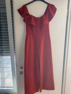 H&M Twin set in jersey rosso mattone