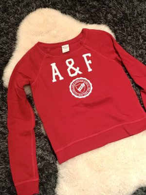Roter Abercrombie Pulli