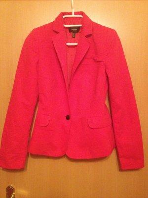 Roter Blazer Größe 36
