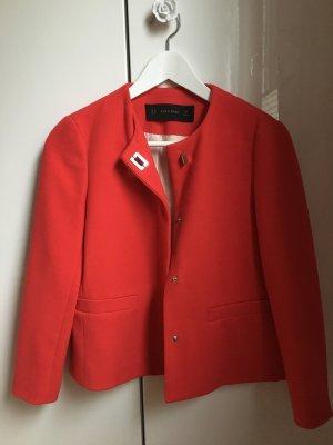 Roter Blazer Jacke von Zara neu XS