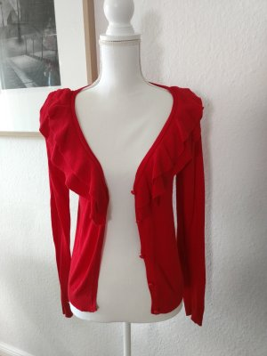 Roter Cardigan in Gr. S